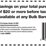 Bulk Barn Canada Coupons and Flyer Deals: Save $5 Off Your Purchase with Coupons + 20% off Select Items