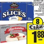 [Food Basics] Black Diamond Processed Cheese Slices 410g 2 for $1.76 after print coupon