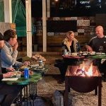 Toronto restaurant now lets you eat outdoors around a fire pit