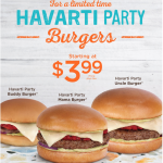 A&W Canada Party down with Chimichurri and Havartis: Burger Starting at $3.99 | Canadian Freebies, Coupons, Deals, Bargains, Flyers, Contests Canada