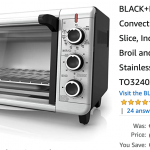 Amazon Canada Deals: Save 28% on BLACK+DECKER Extra Wide Convection Toaster Oven + 23% on Ultralight Tandem Stroller + More Offers | Canadian Freebies, Coupons, Deals, Bargains, Flyers, Contests Canada