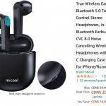 Amazon Canada Deals: Save 48% on Wireless Earbuds + 57% on Bluetooth Speaker + 44% on Bubble Machine with Coupon + More Offers | Canadian Freebies, Coupons, Deals, Bargains, Flyers, Contests Canada