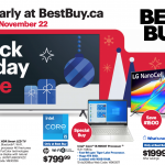 Best Buy Canada Black Friday 2020 Flyer *Early Access*