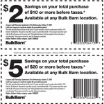 Bulk Barn Canada Coupons and Flyer Deals: Save $2 to $5 Off Your Purchase with Coupons + 20% off Select Items