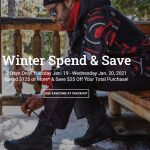 National Sports Canada Winter Spend & Save Sale: Save $25 with Your Purchase $125+ | Canadian Freebies, Coupons, Deals, Bargains, Flyers, Contests Canada