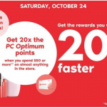 Shoppers Drug Mart Canada Offers: Get 20x The PC Optimum Points When You Spend $50 + 2 Day Sale | Canadian Freebies, Coupons, Deals, Bargains, Flyers, Contests Canada